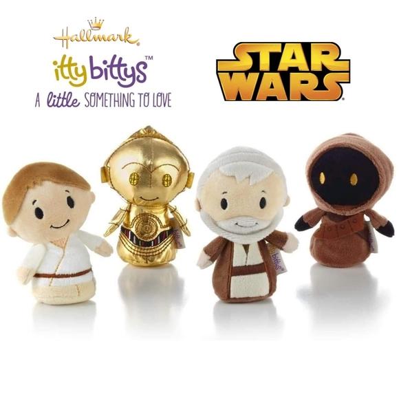 Star Wars collectible set (4) Hallmark Itty Bittys